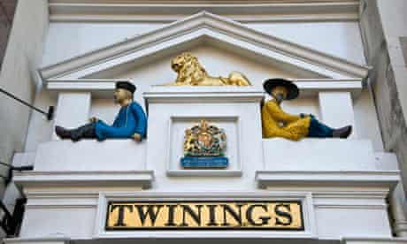 Twinings tea shop, the Strand, London