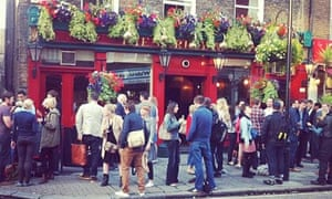 The Barley Mow pub, Marylebone, London