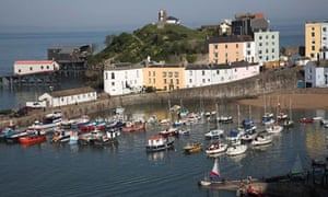 Fortress Tenby … the walled town in Pembrokeshire, Wales