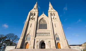 The Roman Catholic cathedral in Armagh.
