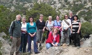 Group, Mistral, Crete