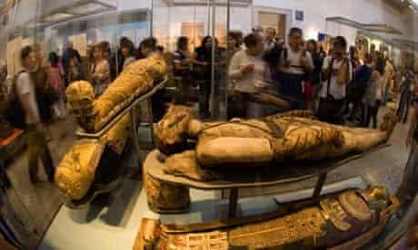 Mummies at the British Museum London