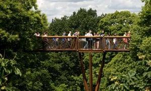 Xstrata Treetop Walkway at Kew Gardens, London