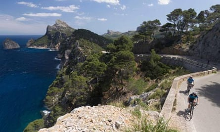 Watch out for Mamils … one of Mallorca's testing routes