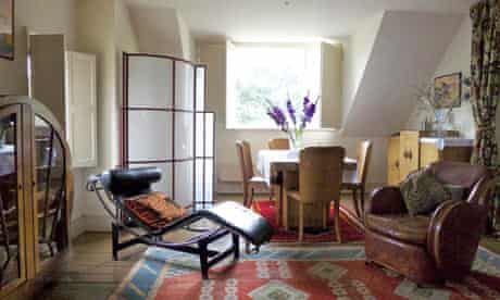 The Apartment, in Whitstable. Click on the magnifying glass icon to see one of the bedrooms