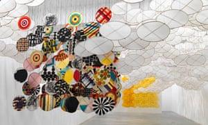 Jacob Hashimoto at Ronchini Gallery