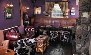Roaring fires and bold prints at the General Burgoyne, Great Urswick.