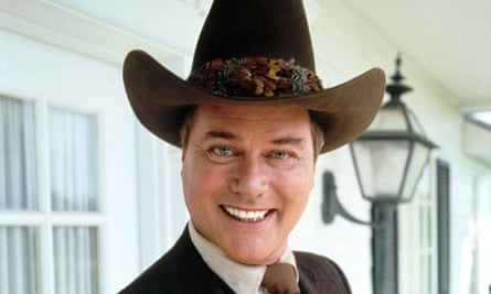 Larry Hagman who played JR Ewing in Dallas