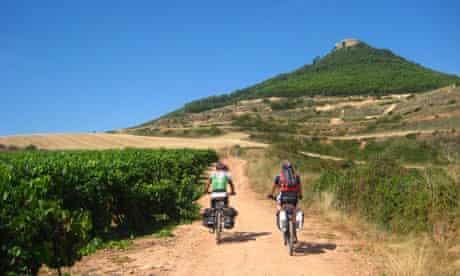 Cycling the Camino de Santiago de Compostela in northern Spain