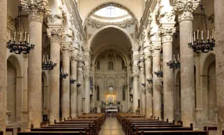 The Santa Croce church, Lecce