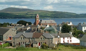 Wigtown from Windyhill, Dumfries and Galloway, Scotland, UK.