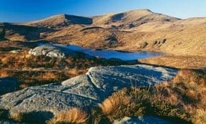 Merrick in the Galloway Hills Scotland
