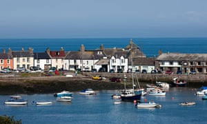 The Isle of Whithorn, Dumfries & Galloway, Scotland