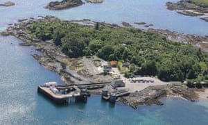 Rubha Phoil Eco campsite is close to Armadale pier and the ferry to the mainland