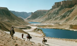 Nomads Traveling Near Band-I-Amir Lakes, Afghanistan