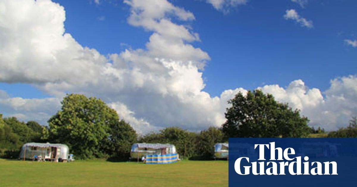 Happy campers: a retro caravan in Dorset | Travel | The Guardian
