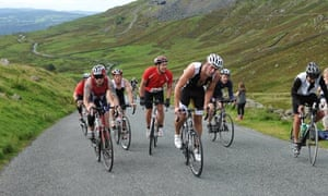 The Struggle – a 25% ascent which stretches for three miles in the Lake District, England.