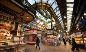 Kirkgate Market, Leeds. Photograph: Alamy