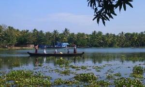 Exploring Kerala by boat