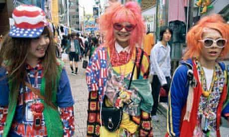 Tokyo fashion tribe