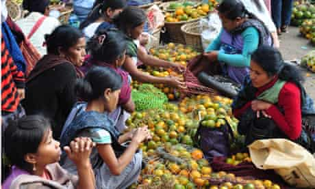 Market day in Cherrapunjee