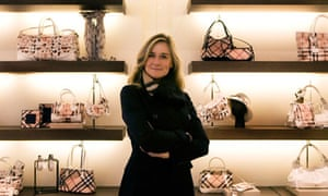 Burberry's Angela Ahrendts has spoken in favour of voluntary targets for women in the boardroom.