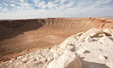 Meteor Crater near Winslow, Arizona