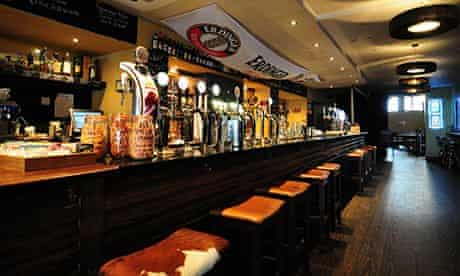 Interior of Oslo bar, Galway