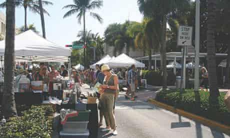 Lincoln Road market, Miami