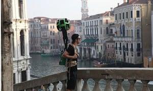 Google street view, Venice