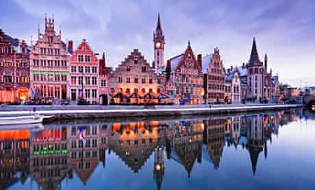 Ghent guild houses