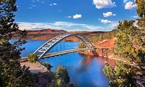 Cart Creek Bridge at Flaming Gorge, Utah