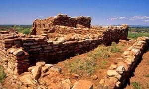 Ruins of an Anasazi pueblo Edge of the Cedars state park, Utah