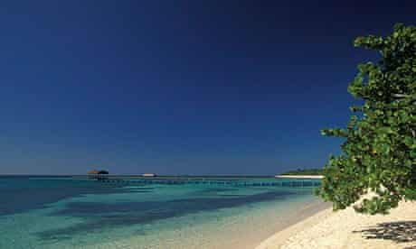 Punta Frances Beach on Isla de la Juventud, Cuba