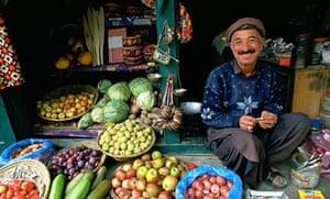 Pakistan, market, Karimabad, Karakoram Highway