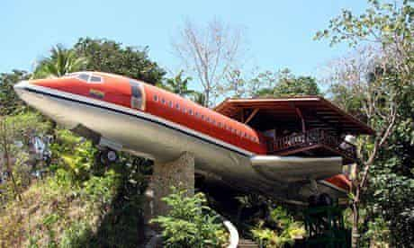 727 Fuselage Home hotel in Costa Rica