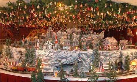 the worlds biggest christmas shop bronners michigan usa travel the guardian - Worlds Largest Christmas Store