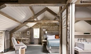 The Boar Room at the Wild Rabbit, Oxfordshire