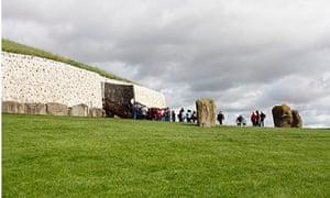 Newgrange tomb where the winter solstice is celebrated
