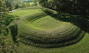 The winter solstice is celebrated at the Serpent Mound effigy