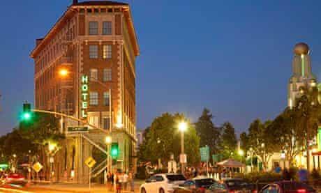 Culver Hotel in downtown Culver City, Los Angeles