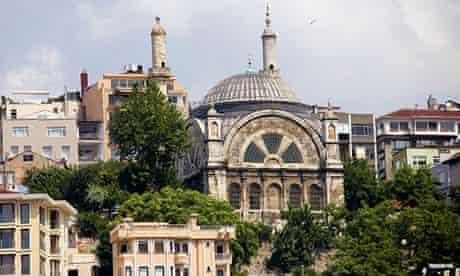 Cihangir Mosque in Istanbul, Turkey, Beyoglu district.