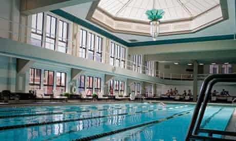 The pool at the Los Angeles Athletic Club