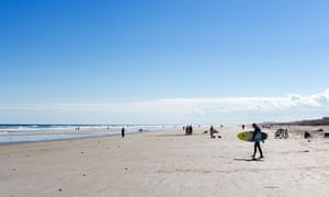 Beach at St Augustine Beach, Florida
