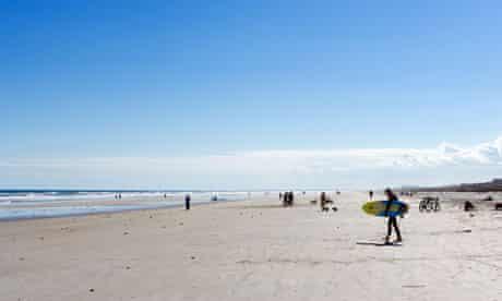 Beach at St Augustine Beach, Florida