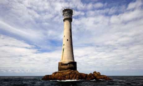 The Bishop Rock Lighthouse, Isles of Scilly
