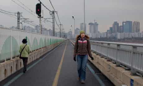 Jamsil bridge, Seoul