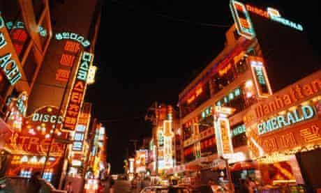 Itaewon discotheque Seoul South Korea