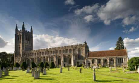 Holy Trinity church in Long Melford, Suffolk