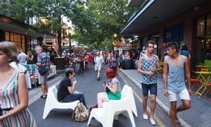 Rundle Street, Adelaide, Australia